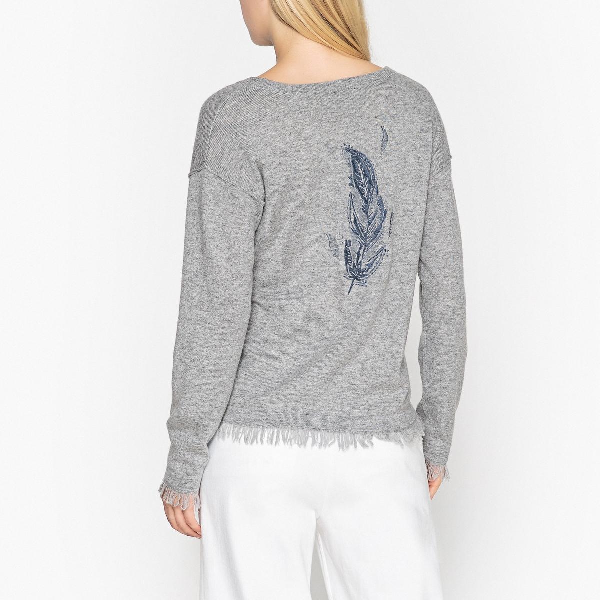 Пуловер с V-образным вырезом, GORDON пуловер из кашемира с u образным вырезом
