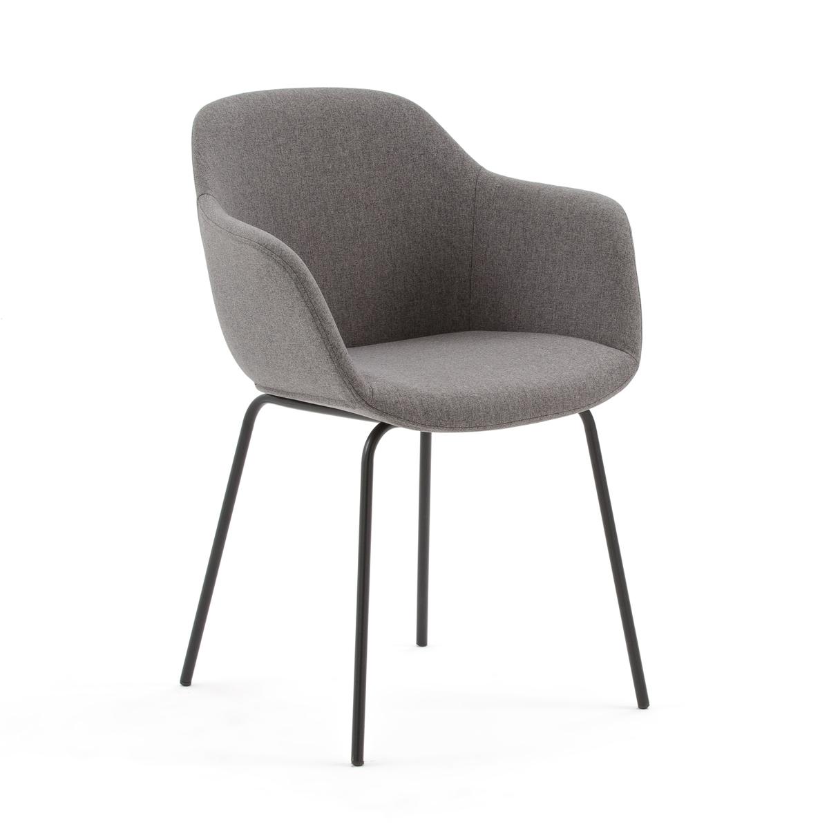 Кресло La Redoute Для стола HALVA единый размер серый цена 2017