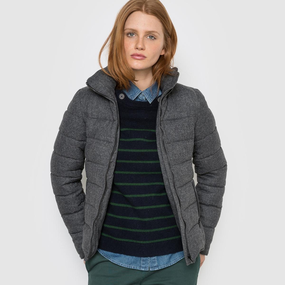Куртка стеганая короткая