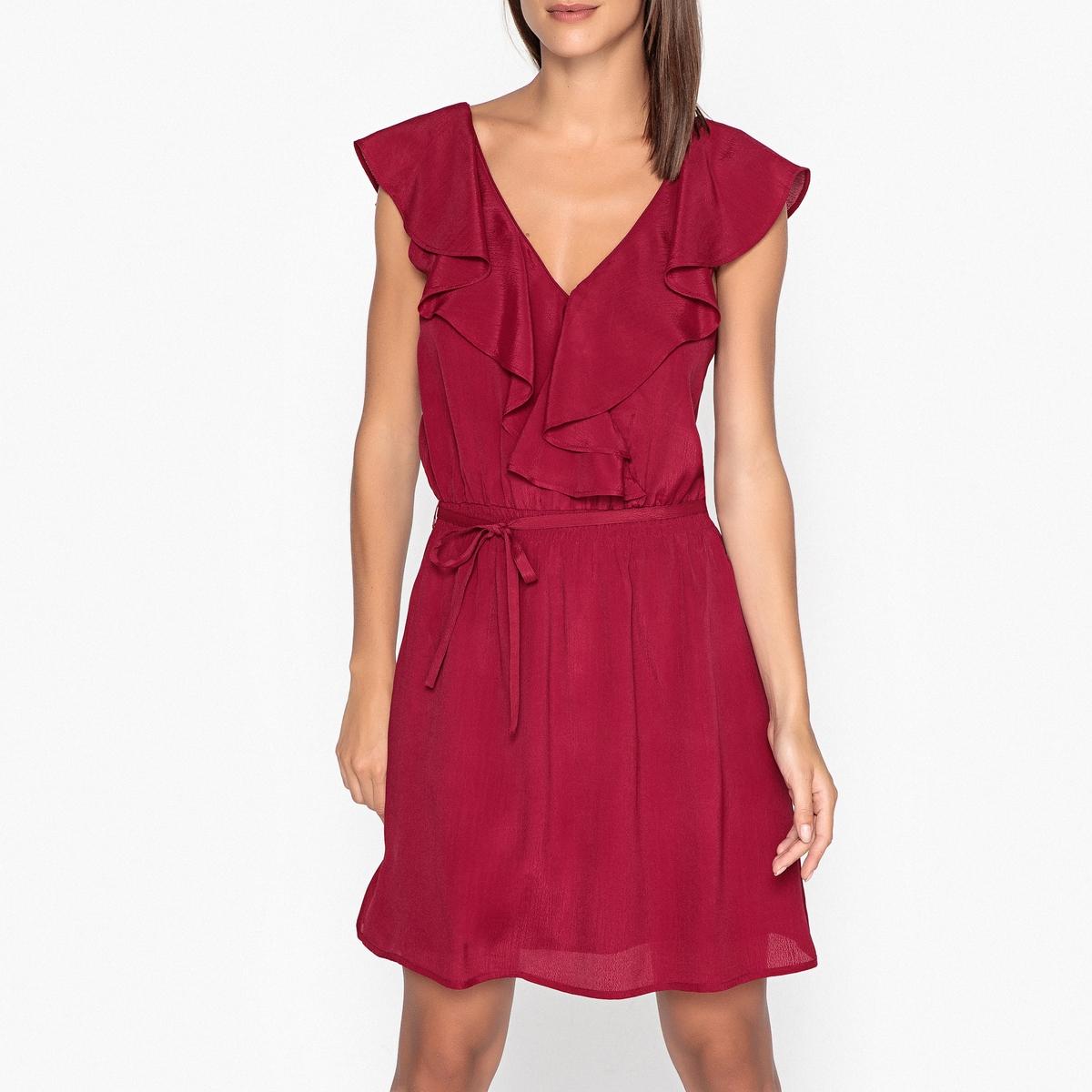 Платье расклешенное без рукавов DAPHNE SATIN.