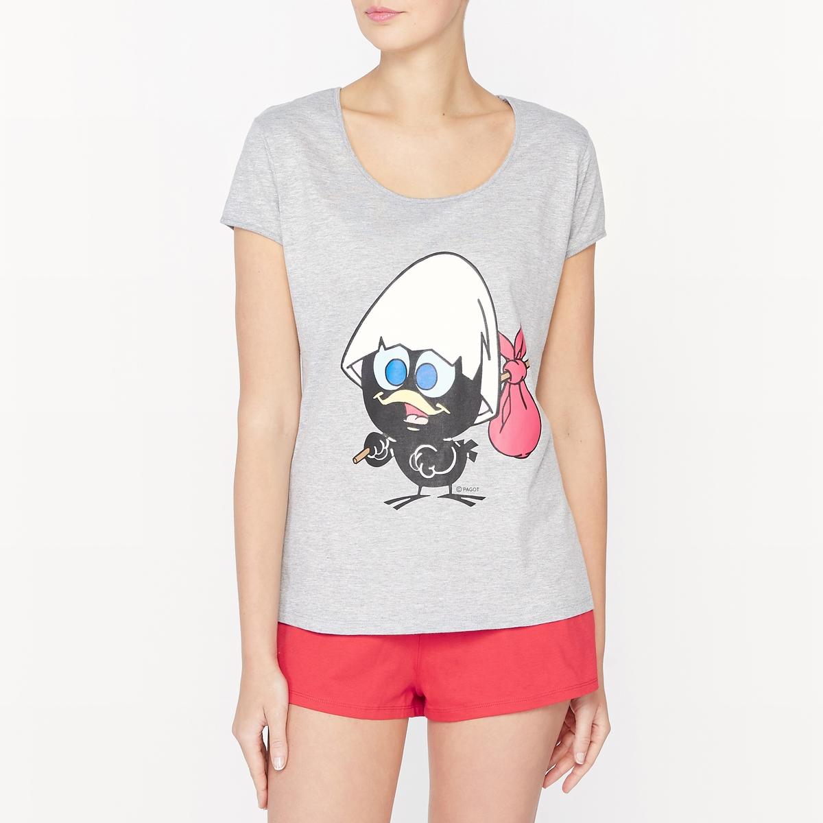 Пижама с шортами Calimero