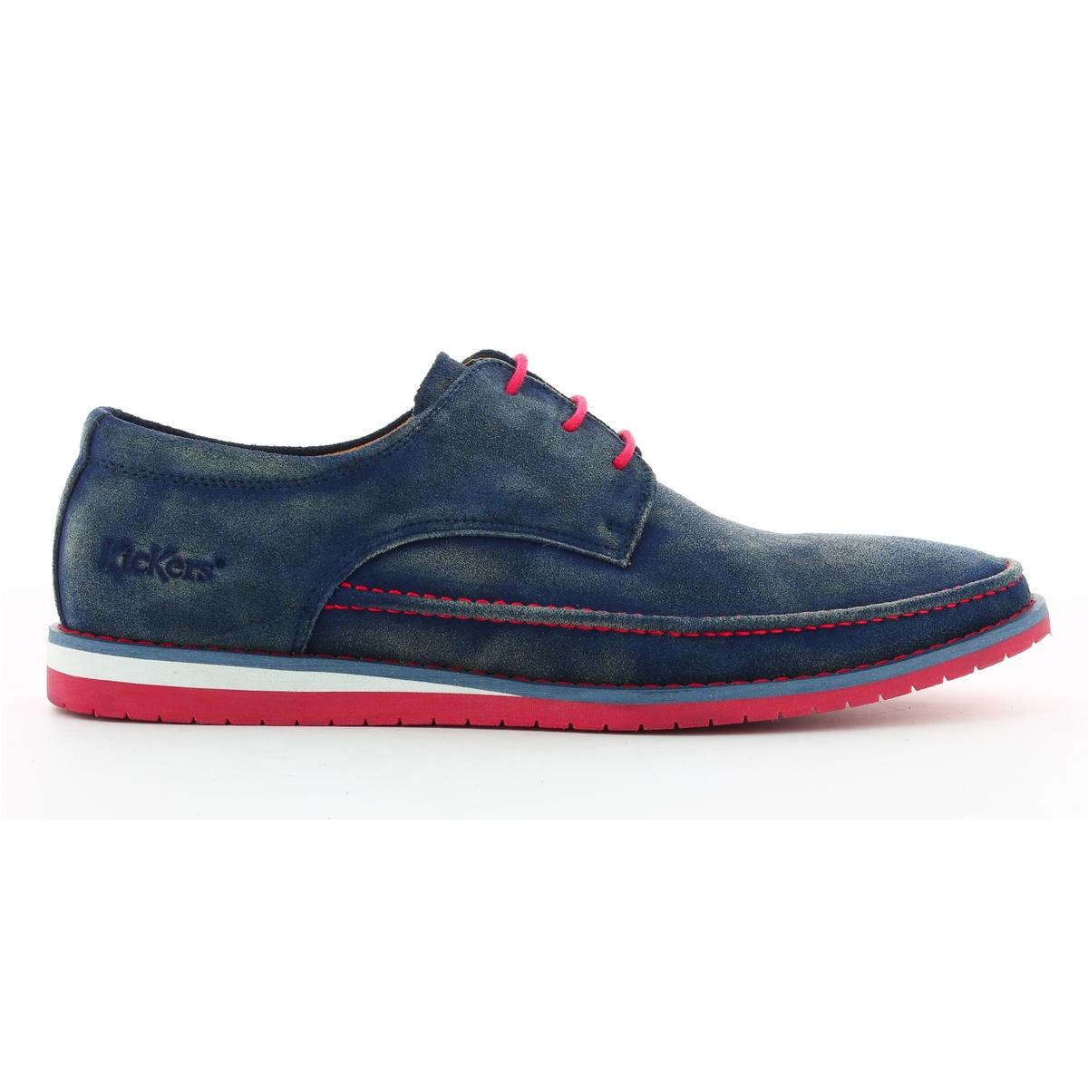 Ботинки-дерби из спилка на шнуровке Tumper ботинки женские зимние на шнуровке без каблука купить