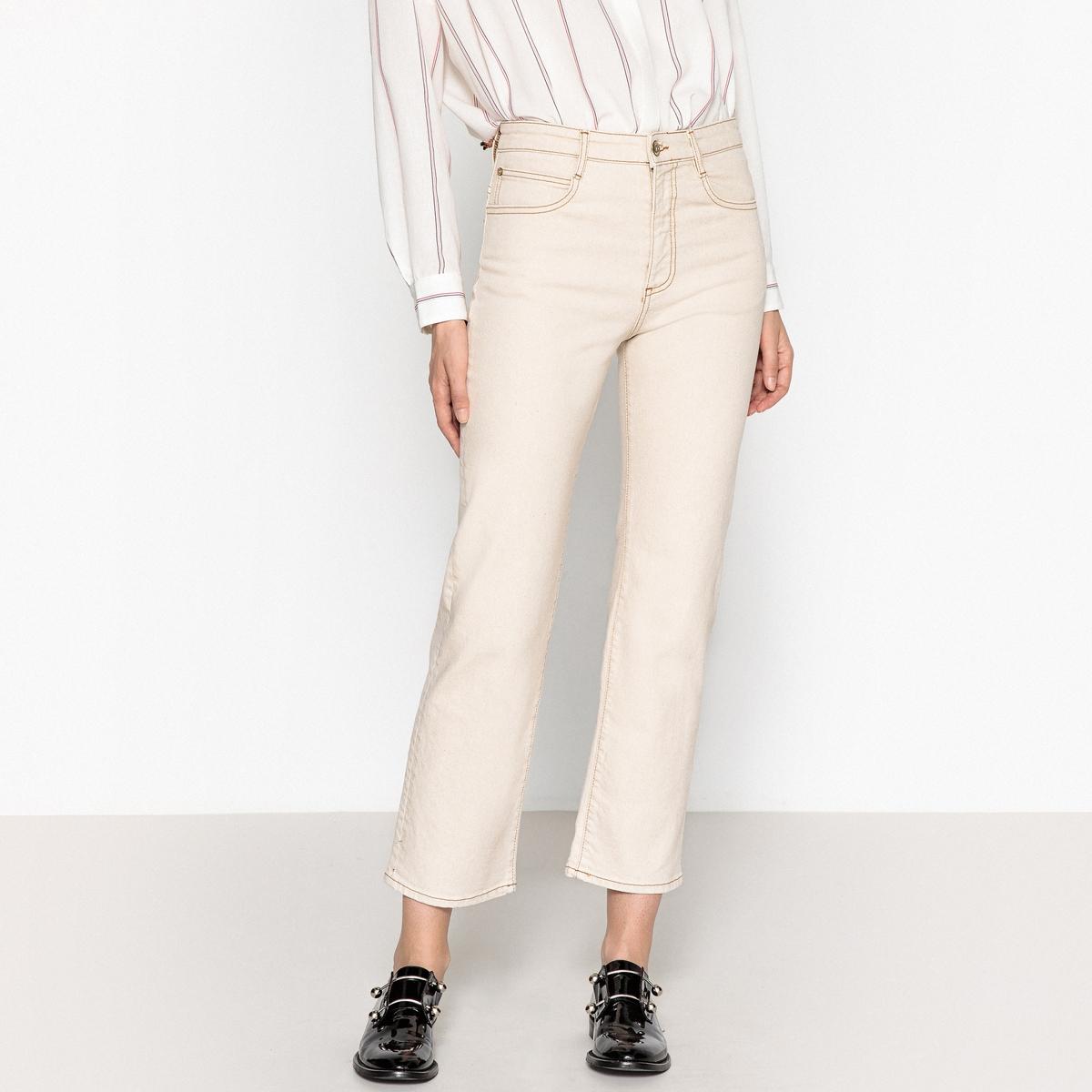 Джинсы прямого покроя с высокой талией by ti mo женские брюки с высокой талией