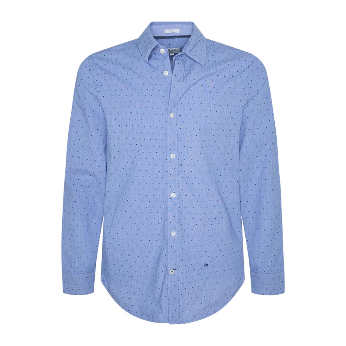 Camisa slim estampada de lunares Gregory