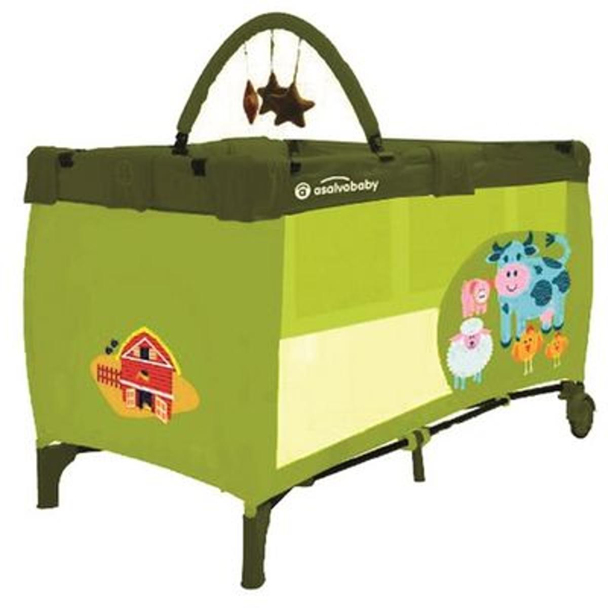 Lit parapluie avec arche Baby Fox Farm