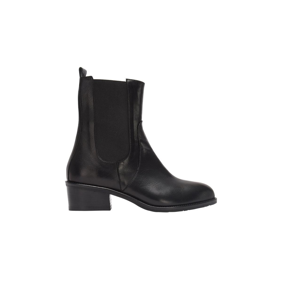 Chelsea boots en cuir TILLEUIL