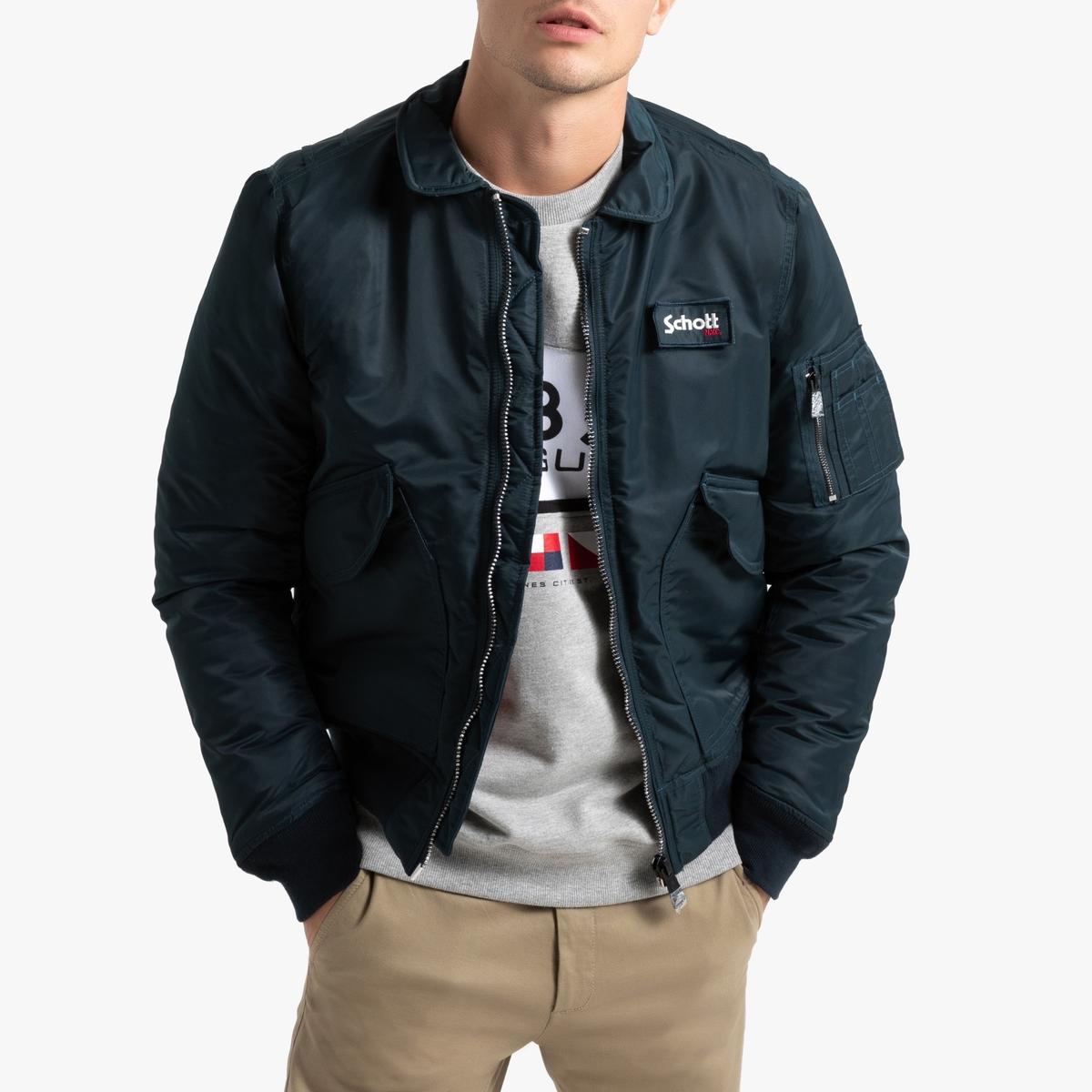 Куртка-бомбер La Redoute La Redoute XL синий шорты la redoute la redoute m синий