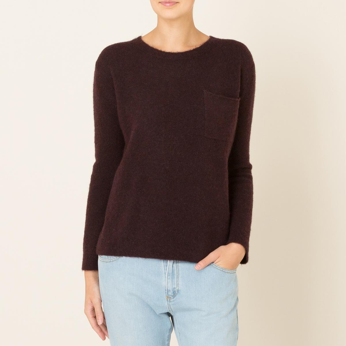 Пуловер TERAСостав и описание Материал : 42% шерсти, 42% полиамида, 14% альпаки, 2% эластана.Марка : HARRIS WILSON<br><br>Цвет: серый,сливовый,темно-синий<br>Размер: L