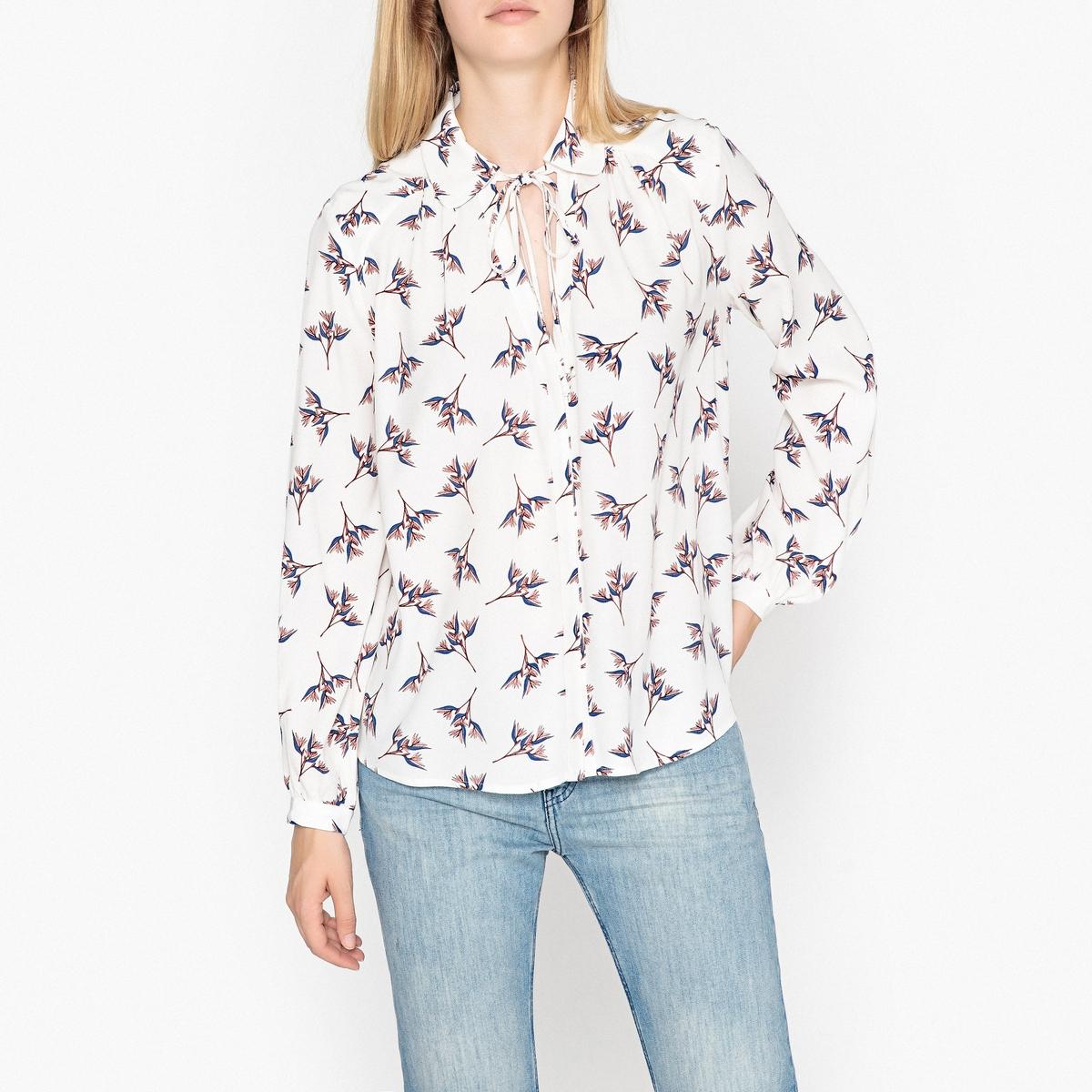 Рубашка с длинными рукавами FAUSTA цена 2017