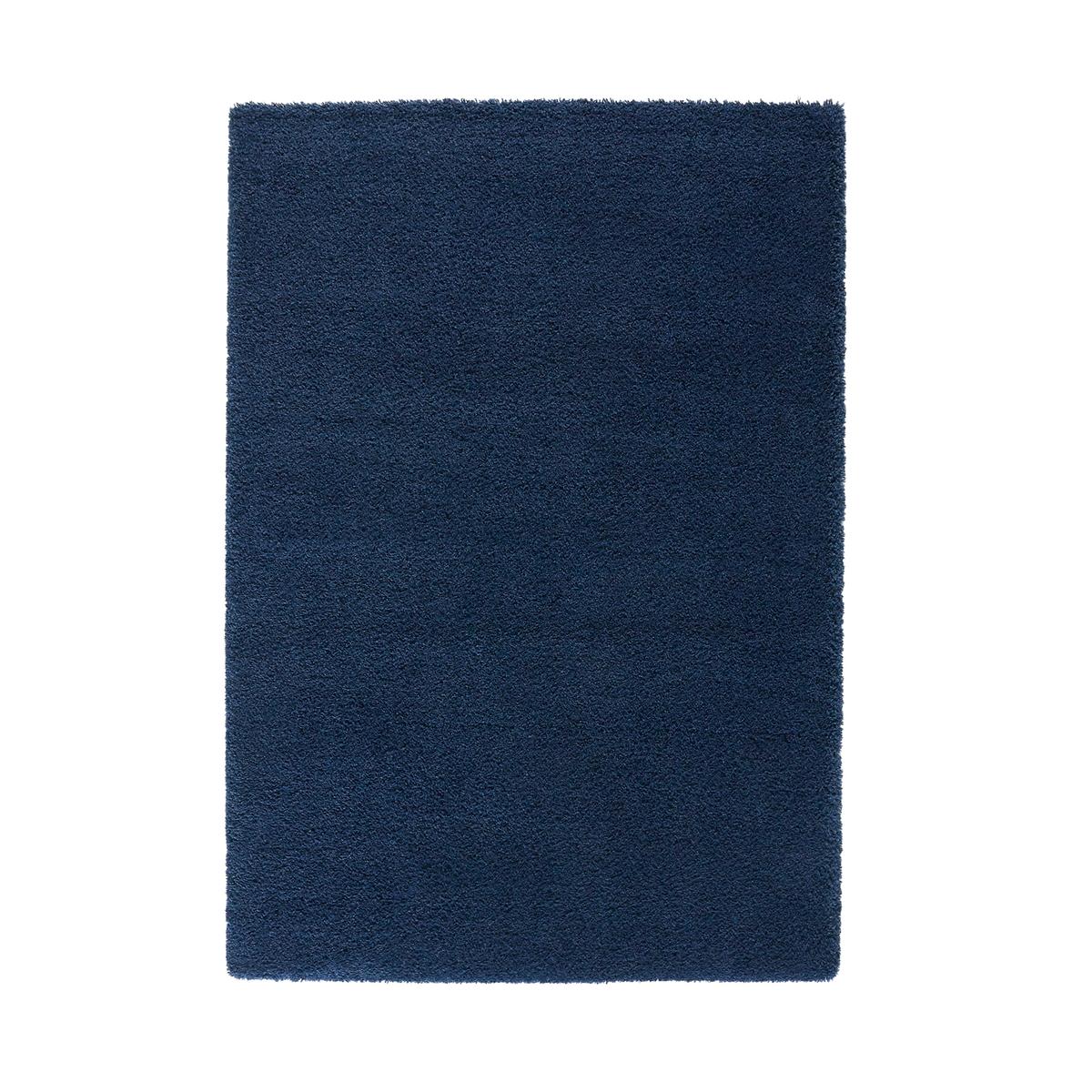 Ковер La Redoute Ворсистый с эффектом шерсти Afaw 200 x 290 см синий ковер la redoute горизонтального плетения с рисунком цементная плитка iswik 120 x 170 см бежевый
