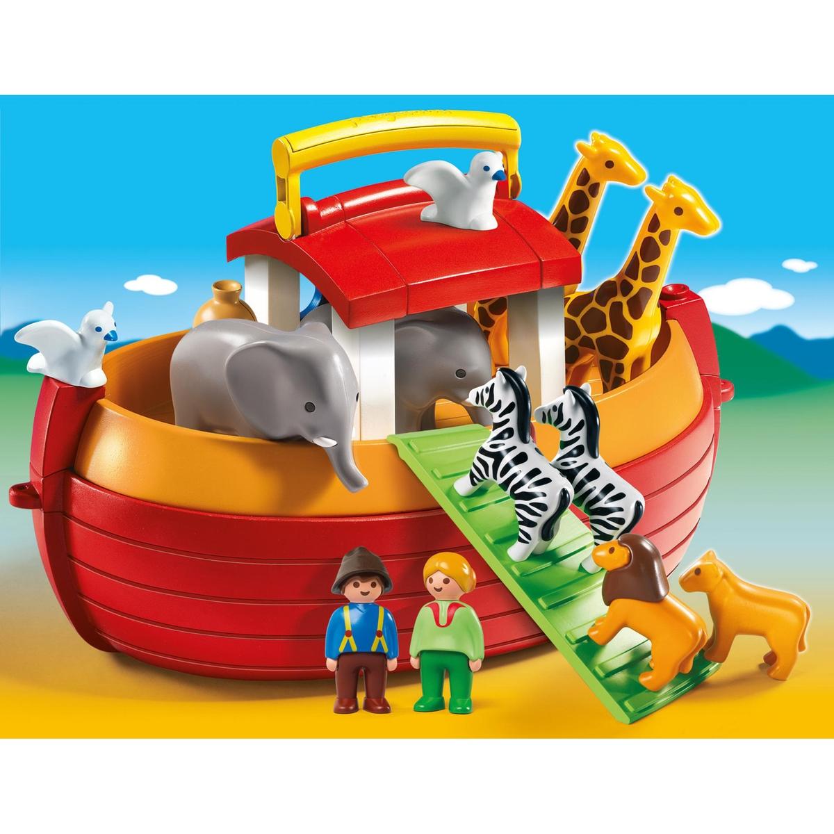 An image of Playmobil Multi-coloured Take Along Noah's Ark