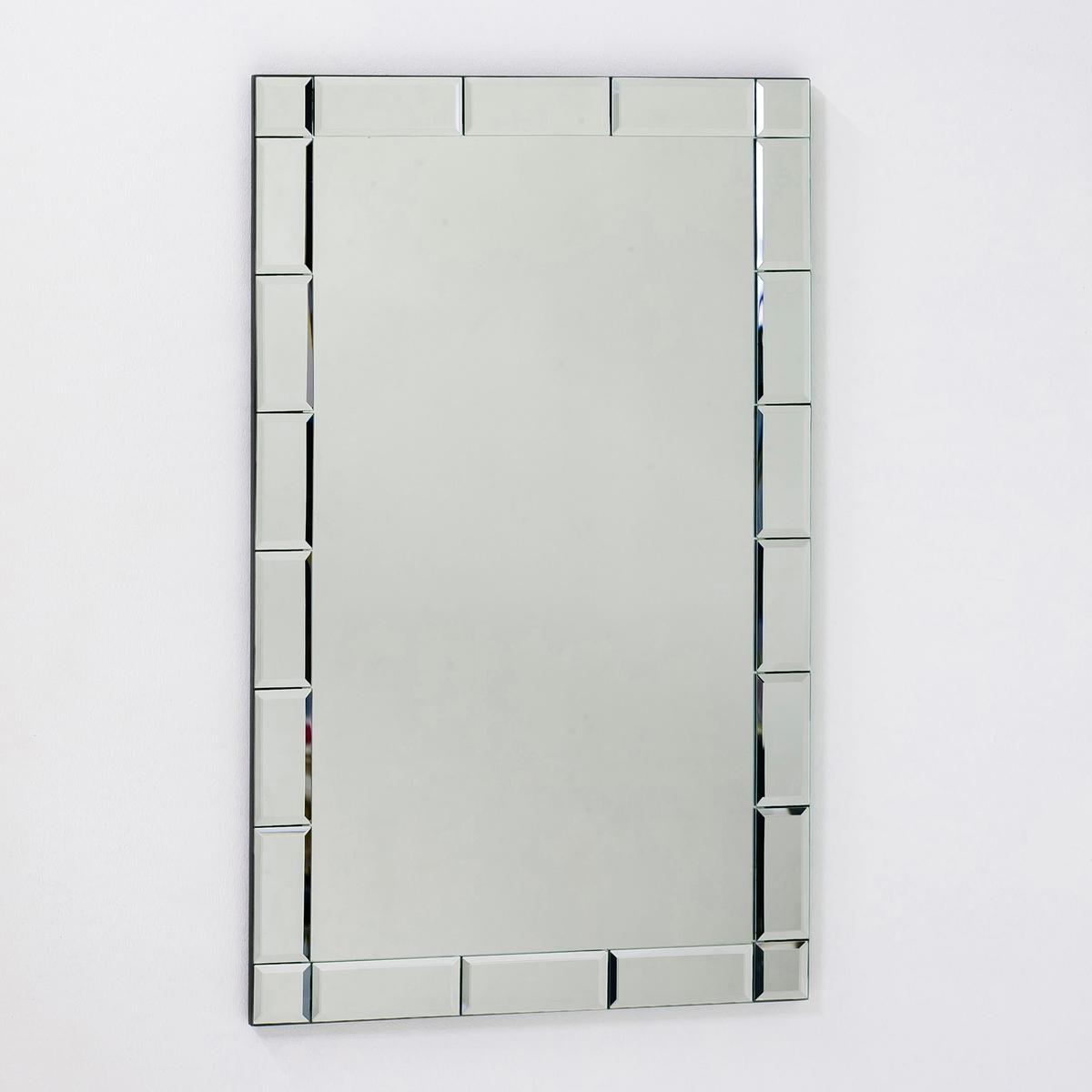 Зеркало настенное AstierЭто зеркало представлено в  2 размерах, оно придаст шика и изысканности вашей комнате . Рамка со скошенными краями придает больше глубины .<br><br>Цвет: безцветный<br>Размер: 40 x 40