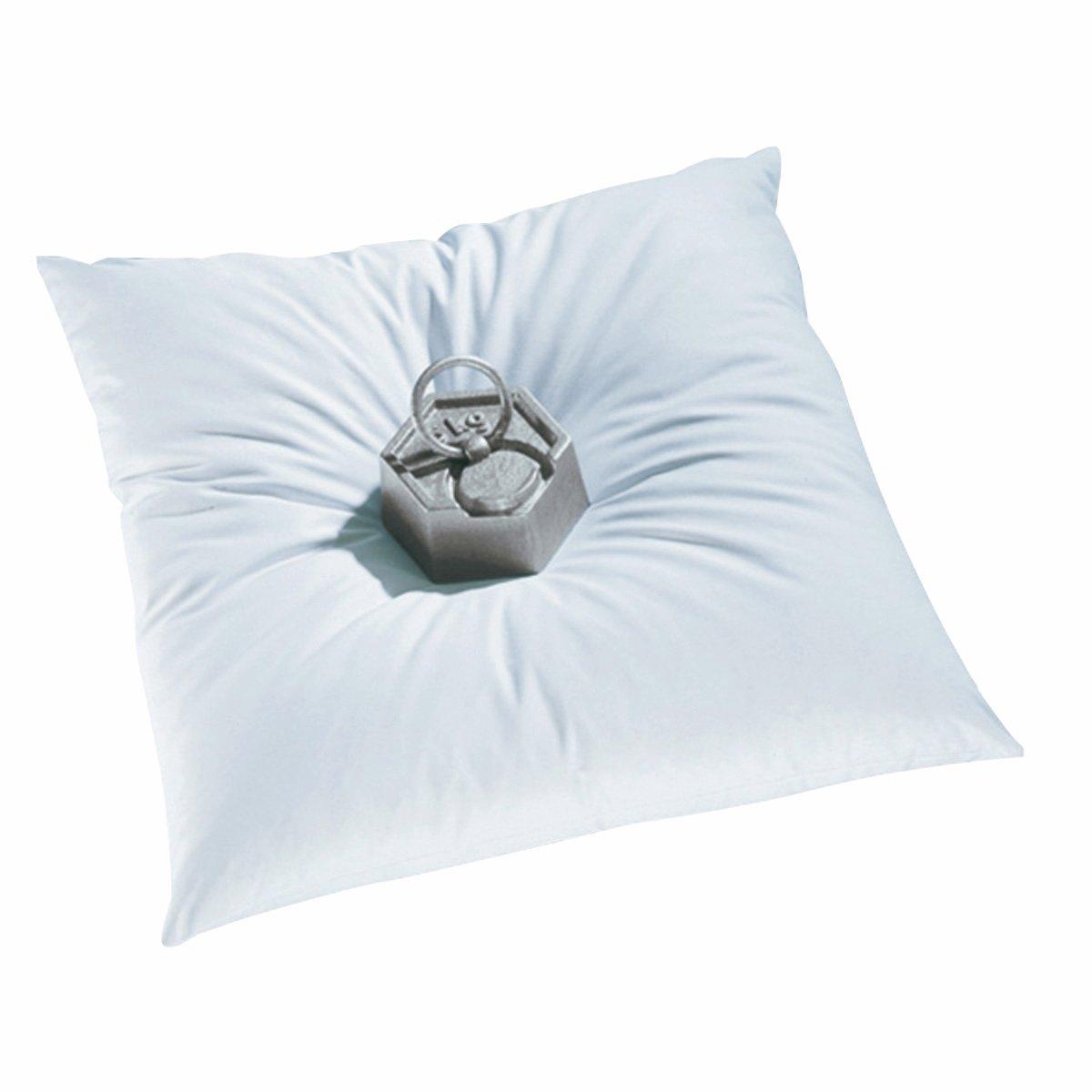 Cuscino chiuso in piumino naturale