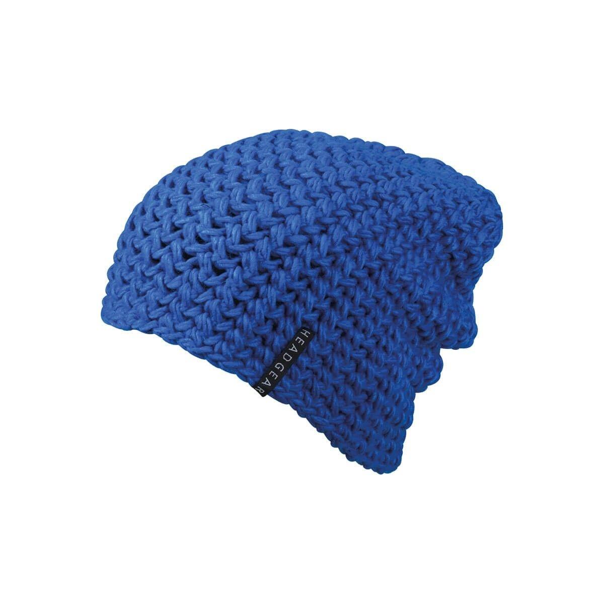 Bonnet crochet grande taille