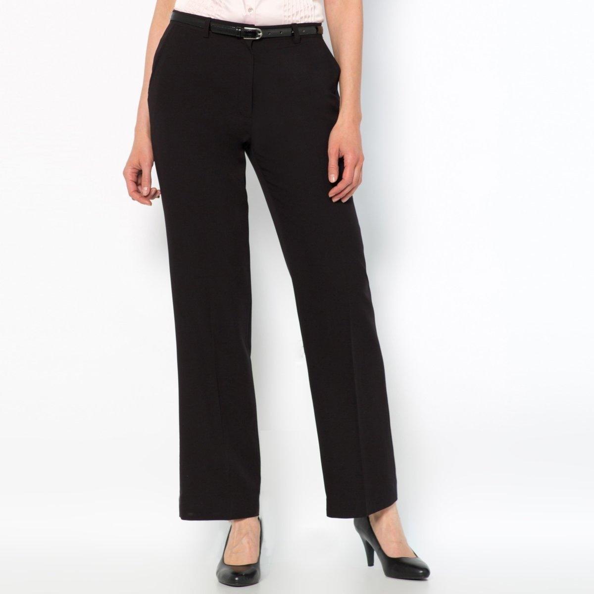 Брюки из комфортной ткани стрейчУдобные брюки из красивой саржи стрейч . Пояс со шлевками. Застежка на молнию и пуговицу спереди . Косые карманы. Косые карманы. Ложные прорезные карманы с пуговицами сзади . Стрелки спереди и сзади . Состав и детали :Материал : Саржа стретч, 75% полиэстера, 19% вискозы, 6% эластана . Длина по внутр.шву 78 см, ширина по низу 24 см.Марка : Anne WeyburnУход :Машинная стирка при 30° в умеренном режиме .Гладить на низкой температуре.<br><br>Цвет: серо-коричневый,серый меланж,черный<br>Размер: 40 (FR) - 46 (RUS).44 (FR) - 50 (RUS).46 (FR) - 52 (RUS).52 (FR) - 58 (RUS).44 (FR) - 50 (RUS).50 (FR) - 56 (RUS).38 (FR) - 44 (RUS).40 (FR) - 46 (RUS).42 (FR) - 48 (RUS).48 (FR) - 54 (RUS)