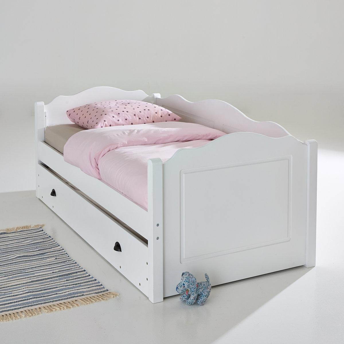 Кровать La Redoute Раздвижная -позиционная Authentic Style 90 x 190 см белый x style