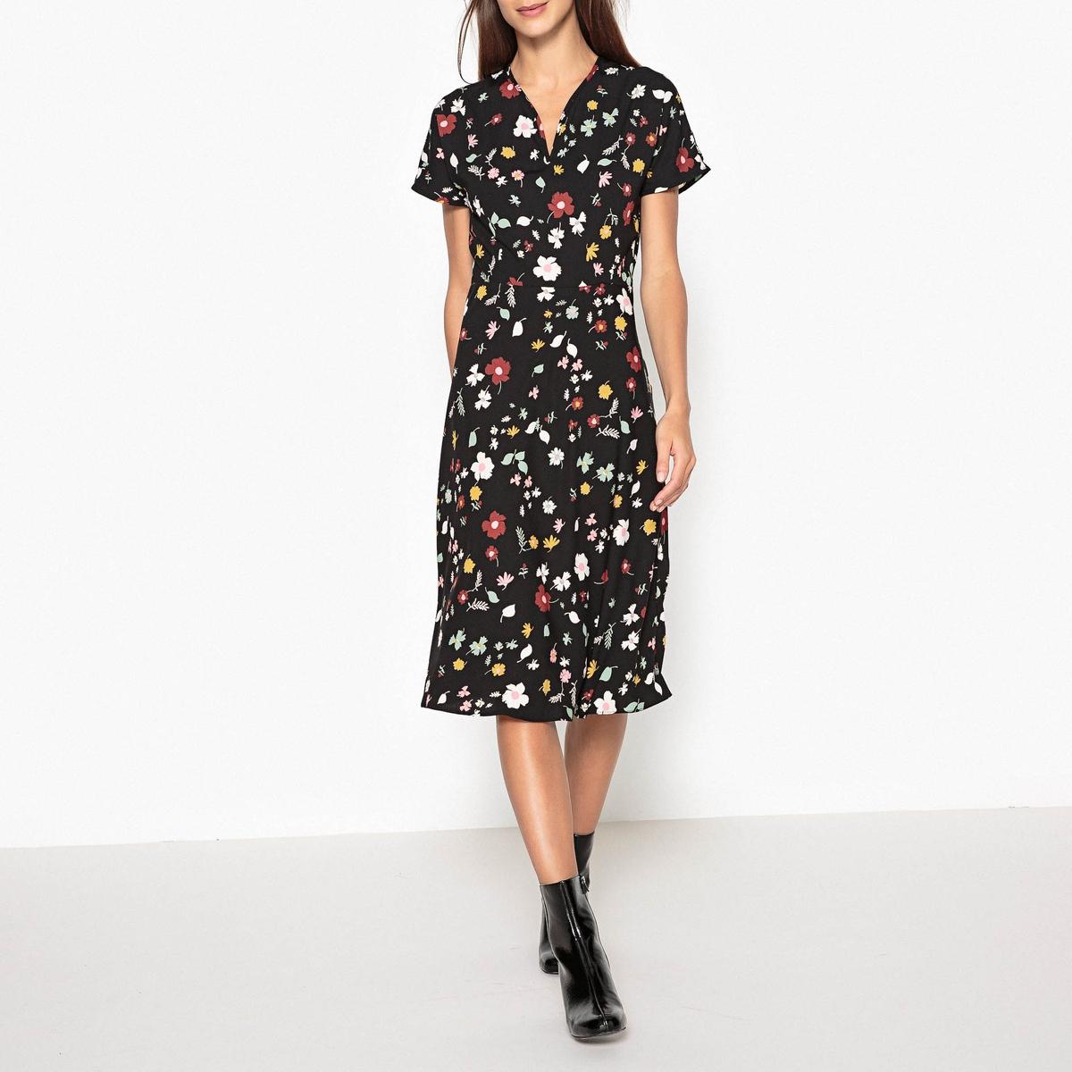 Платье с рисунком VOLTAIRE