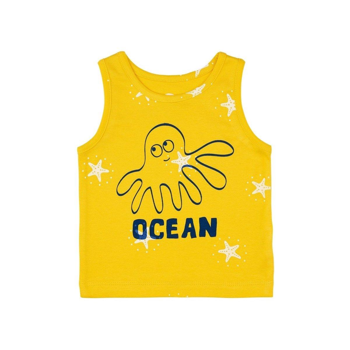 Débardeur Octopus 100% Coton Bio