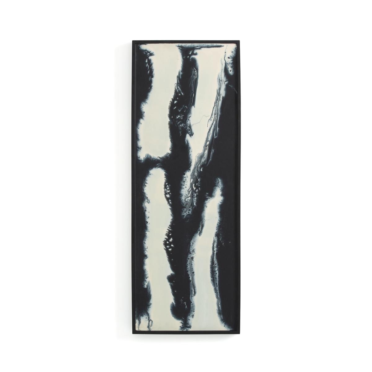Рамка La Redoute Окрашенная из пластика ДxВ Song единый размер черный статуэтка la redoute в форме лица из пластика waraji единый размер черный