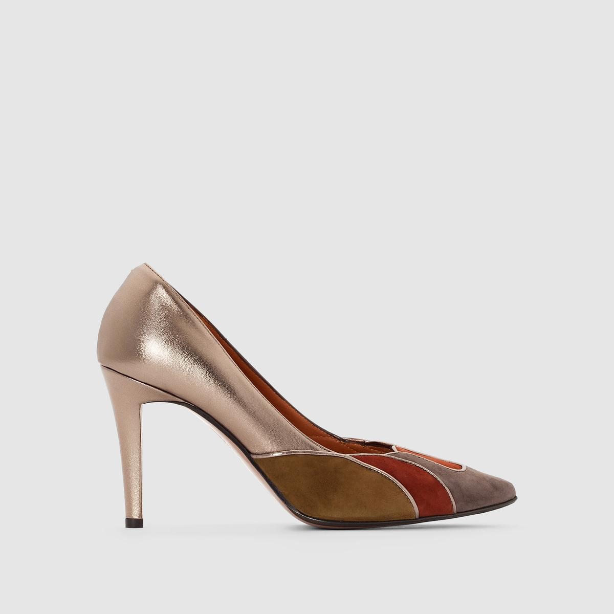 Туфли кожаные на шпильке Dona туфли на шпильке