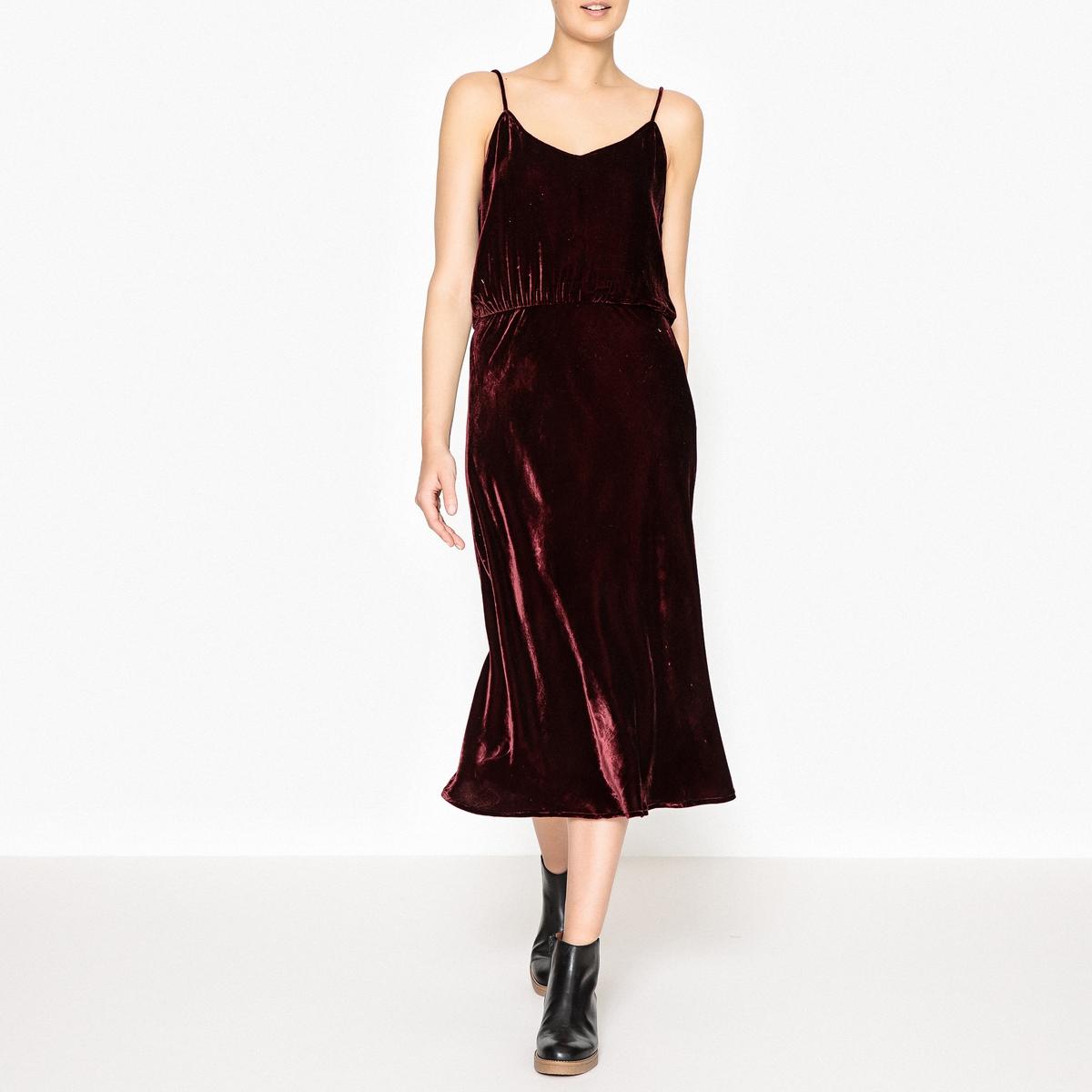 Платье из велюра GRAZIELLA цена 2017
