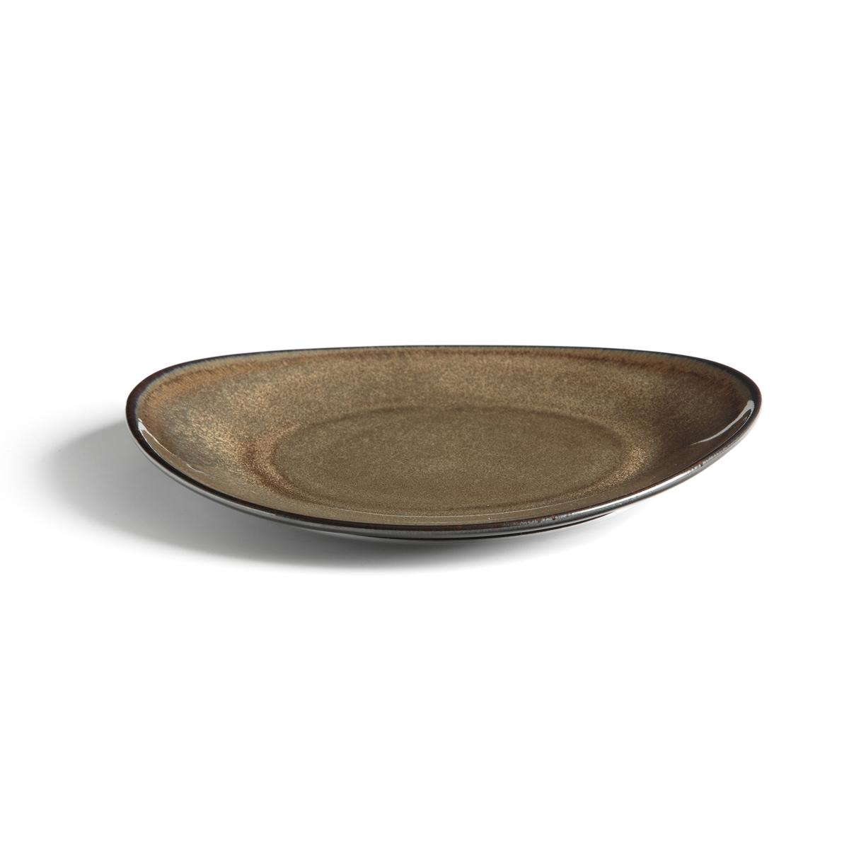 Плоские La Redoute Тарелки из эмалированной керамики Attale единый размер каштановый плоские la redoute тарелки из эмалированной керамики attale единый размер каштановый