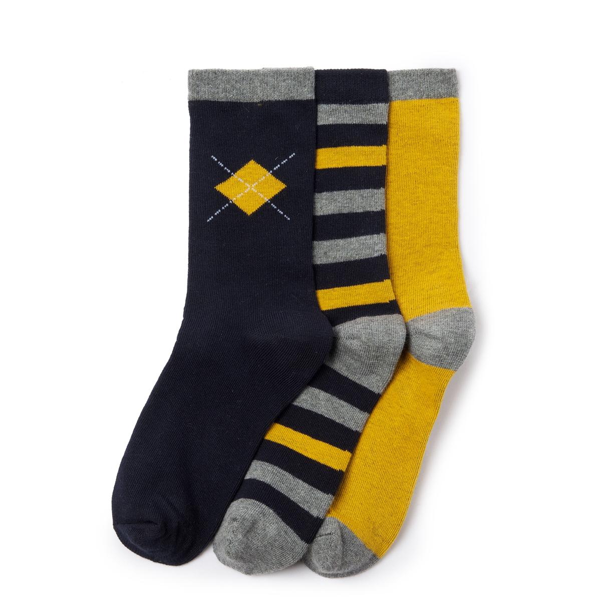 Комплект из 3 пар оригинальных носков комплект из 3 пар носков