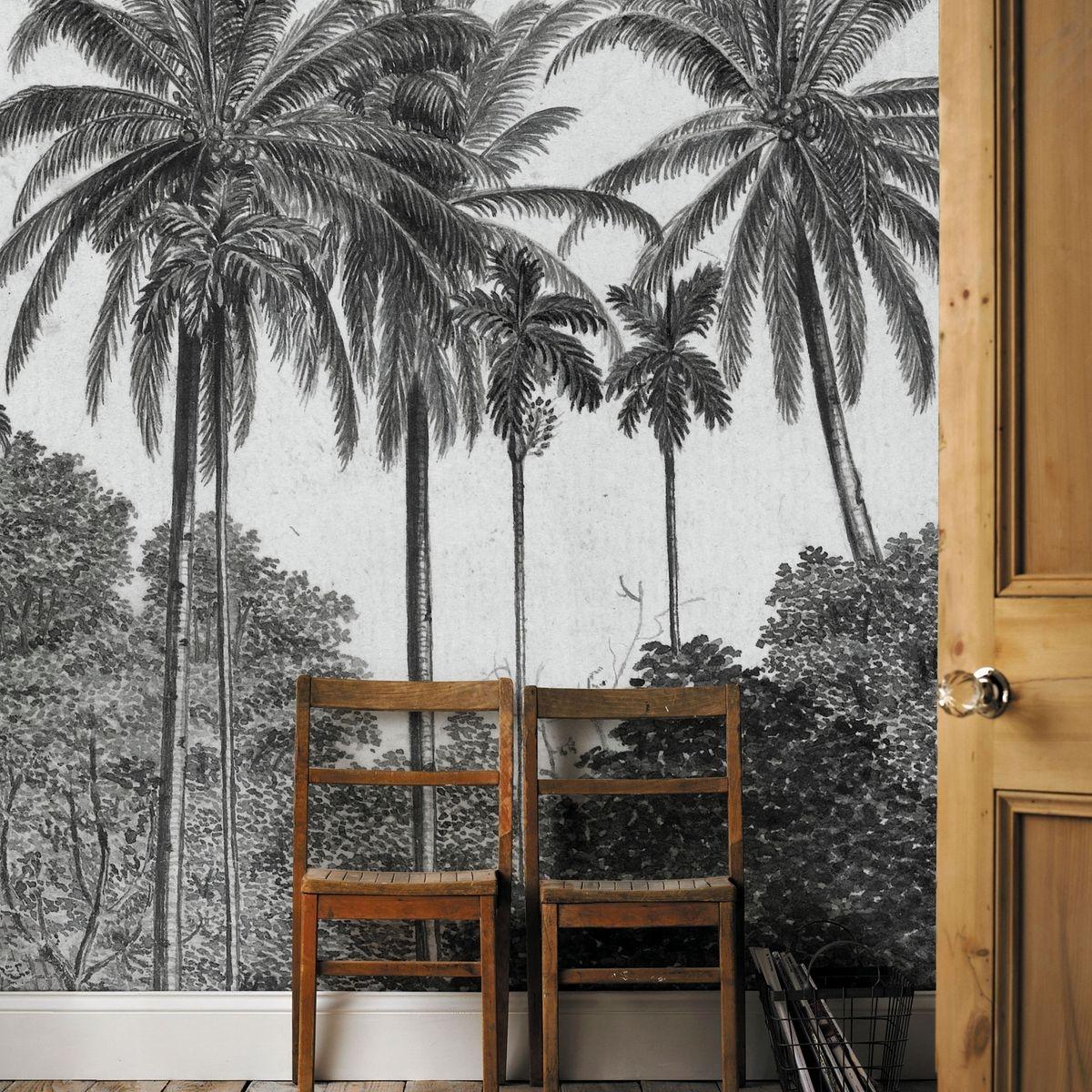 Papier Peint Digital Palmiers
