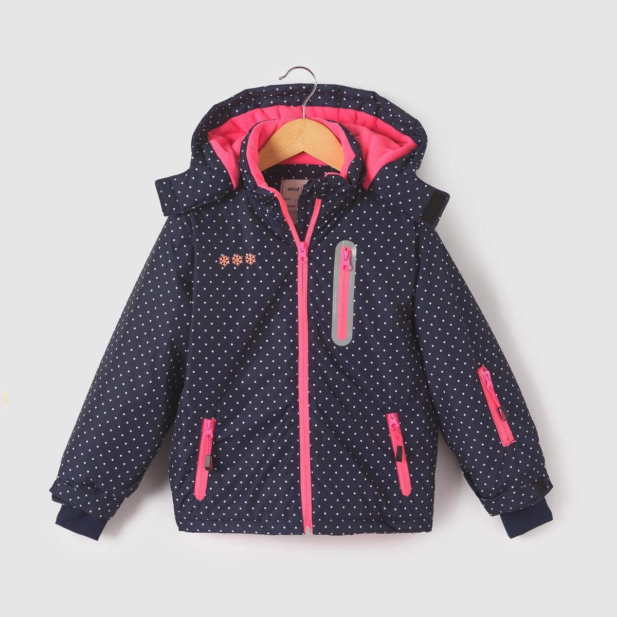 Куртка лыжная с капюшоном,  3-16 лет