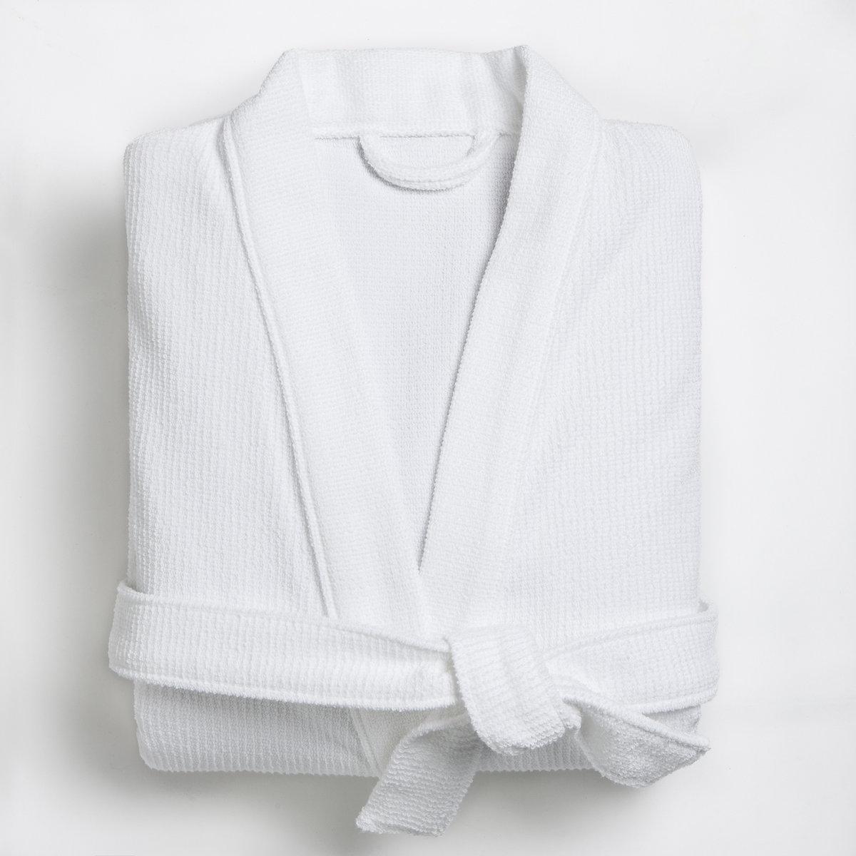 Халат махровый, 400 г/м?Характеристики махрового  халата, 400 г/м?:100% хлопка (400 г/м?). Материал долго сохраняет мягкость и прочность. Превосходная стойкость цвета при стирке 60°.Машинная сушка.<br><br>Цвет: антрацит,белый