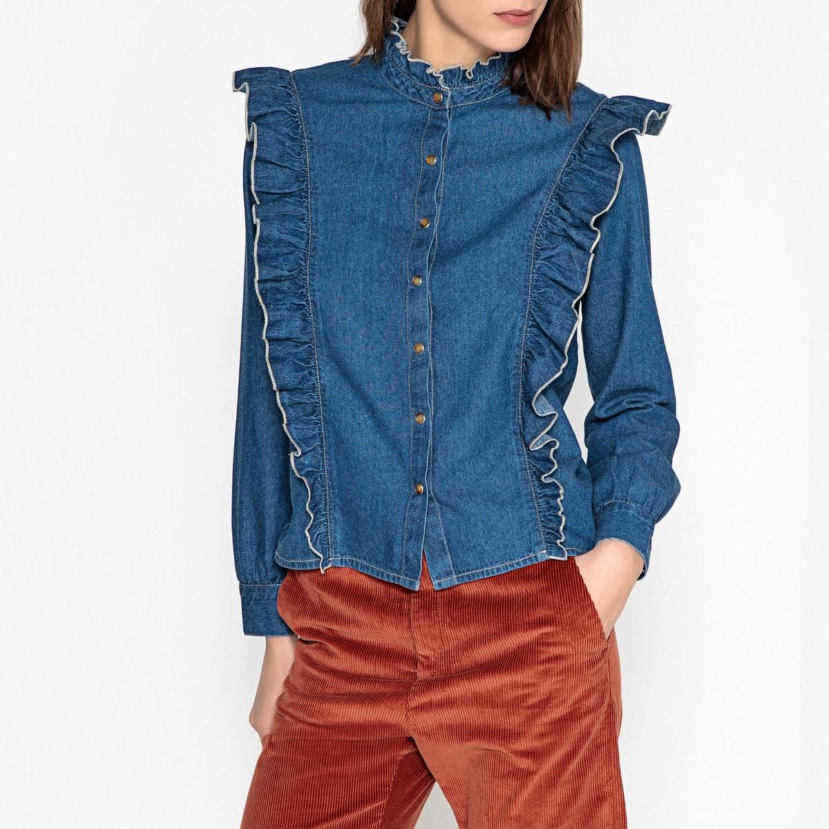 Рубашка джинсовая CRAWL STONE