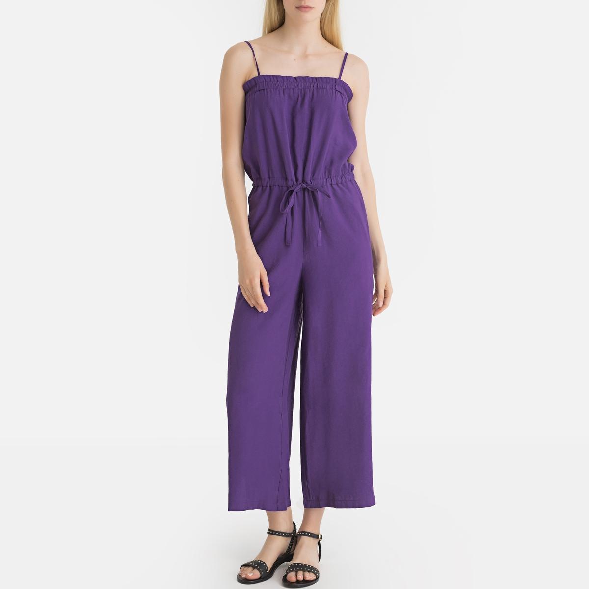 Комбинезон LaRedoute La Redoute 34 (FR) - 40 (RUS) фиолетовый платье la redoute прямое с рукавами 34 fr 40 rus черный