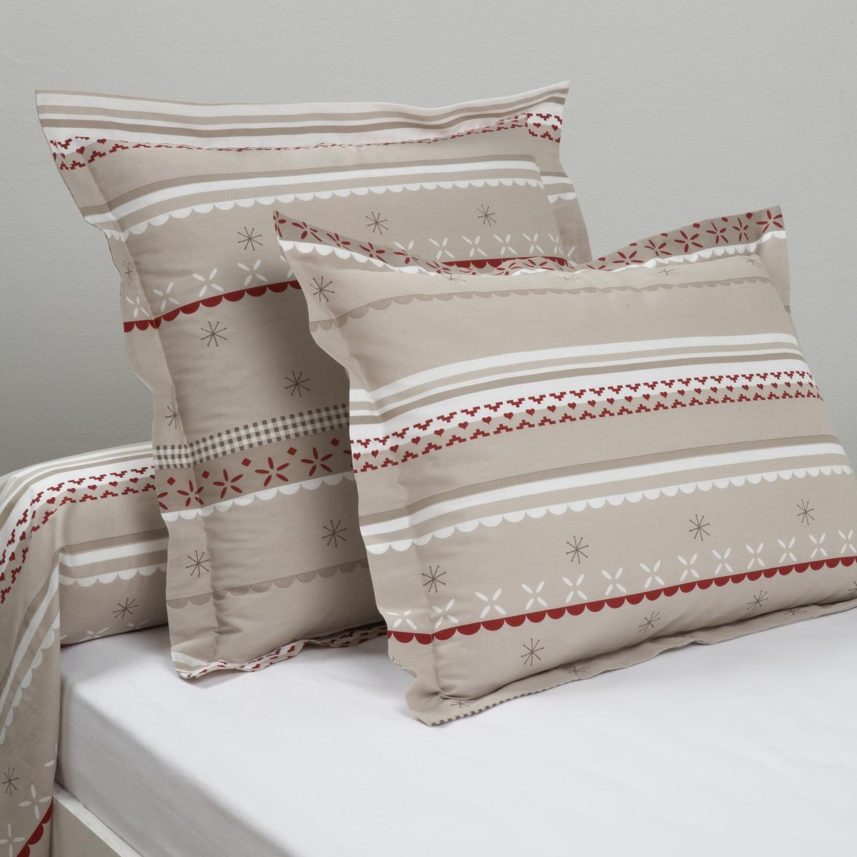 Наволочка на подушку-валик с принтом, Tyrol наволочка на подушку валик fougeras