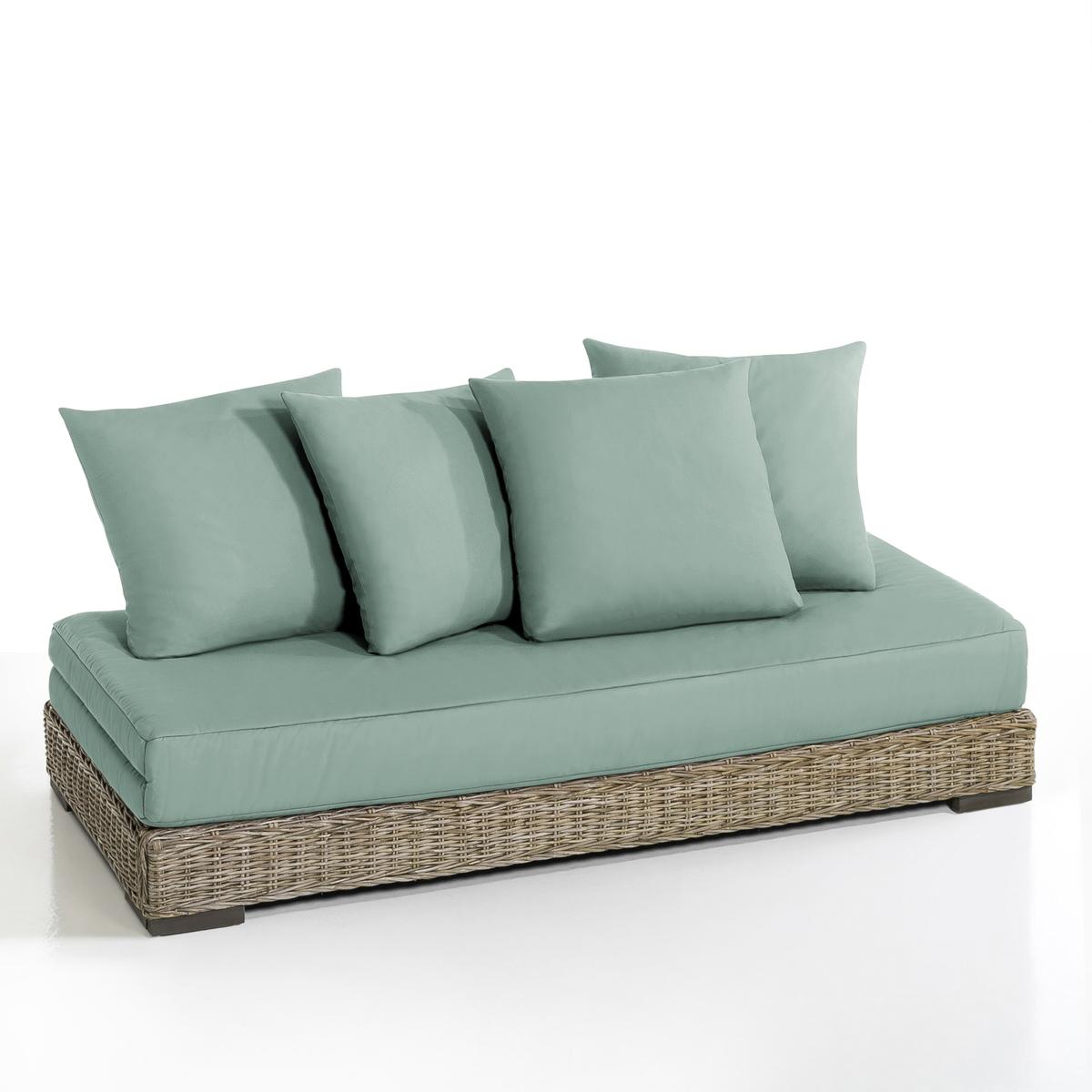 Кровать-банкетка La Redoute С плетением кубу Giada 80 x 190 см бежевый