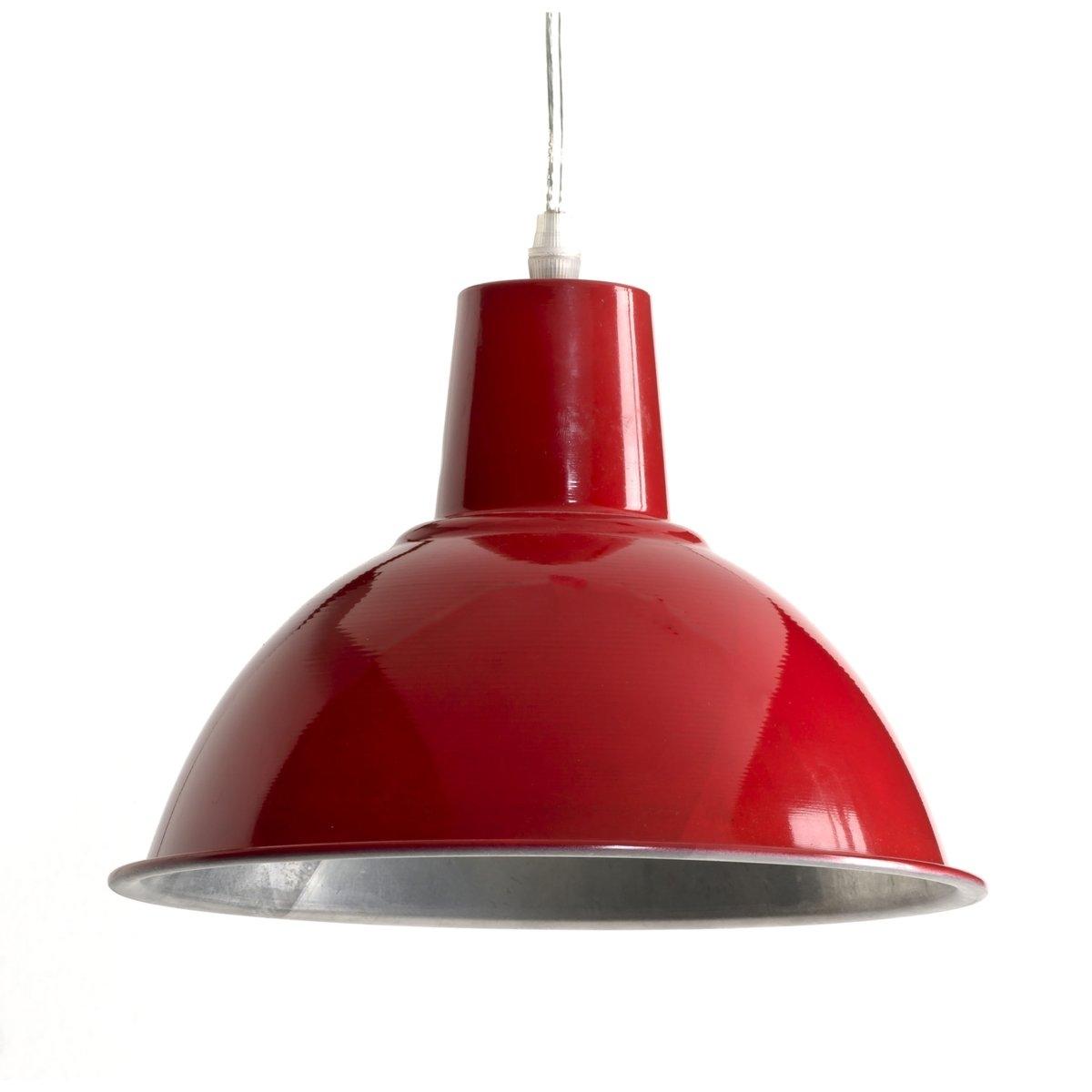 Светильник из металла в индустриальном стиле, LamiОписание светильника  Lami  :Электрифицированный Патрон E27 для флюокомпактной лампочки 15W (не входит в комплект)  .Этот светильник совместим с лампочками    энергетического класса   : AХарактеристики светильника  Lami  :выполнена из металлаВсю коллекцию светильников вы можете найти на сайте laredoute.ru.Размер светильника  Lami  :Диаметр : 25,5 смВысота : 18 см.<br><br>Цвет: красный<br>Размер: единый размер