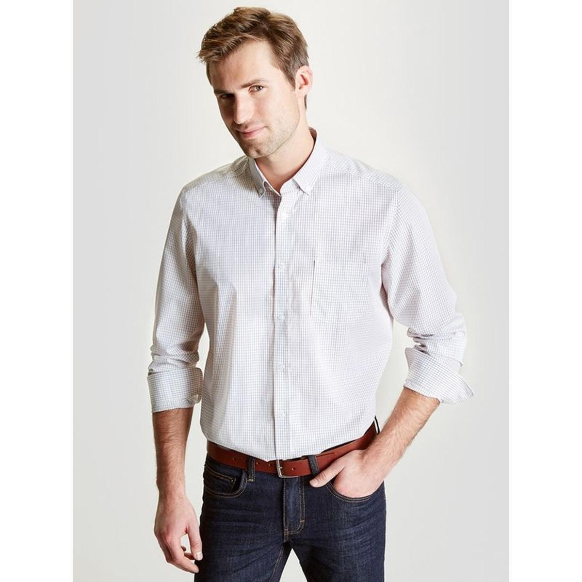 chemise homme classique carreaux vendu par la redoute 16879445. Black Bedroom Furniture Sets. Home Design Ideas