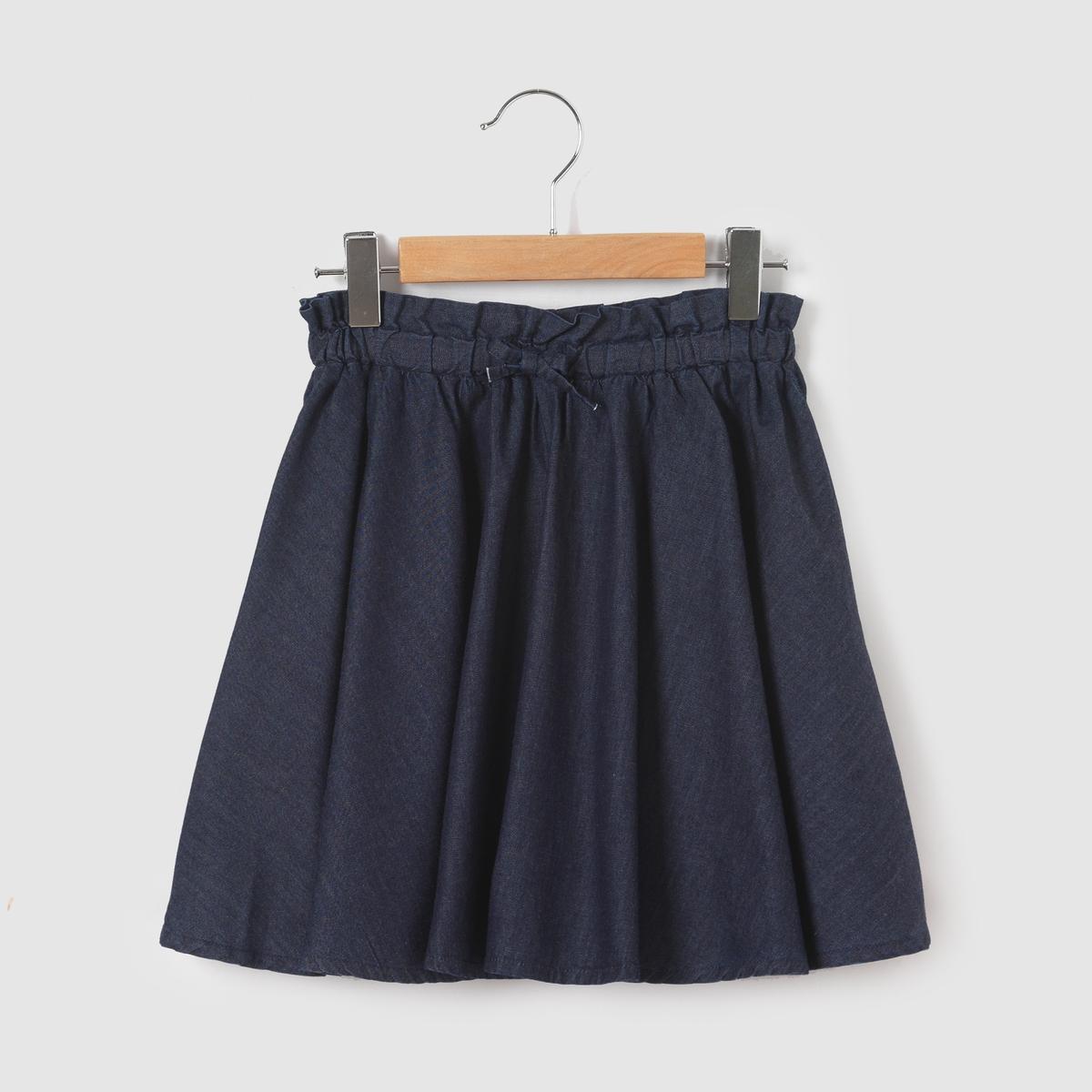 Юбка расклешенная джинсовая, 3-12 лет от La Redoute Collections