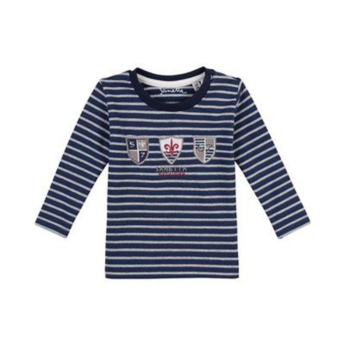 SANETTA Le T-shirt rayé à manches longues top bébé vêtements bébé