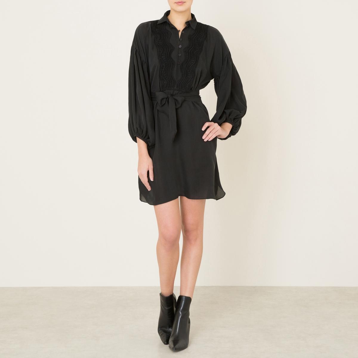 Платье KERENA приталенное платье с застежкой на пуговицы пояс gf ferre приталенное платье с застежкой на пуговицы пояс
