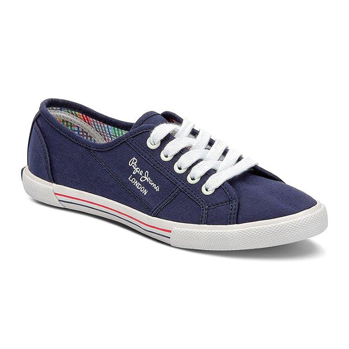 Кеды Basic 17Детали •  Спортивный стиль •  Плоский каблук •  Высота каблука : 2,5 см •  Застежка : шнуровкаСостав и уход • Верх 100% хлопок •  Подкладка 100% хлопок •  Стелька 100% хлопок •  Подошва 100% каучук<br><br>Цвет: синий морской<br>Размер: 40