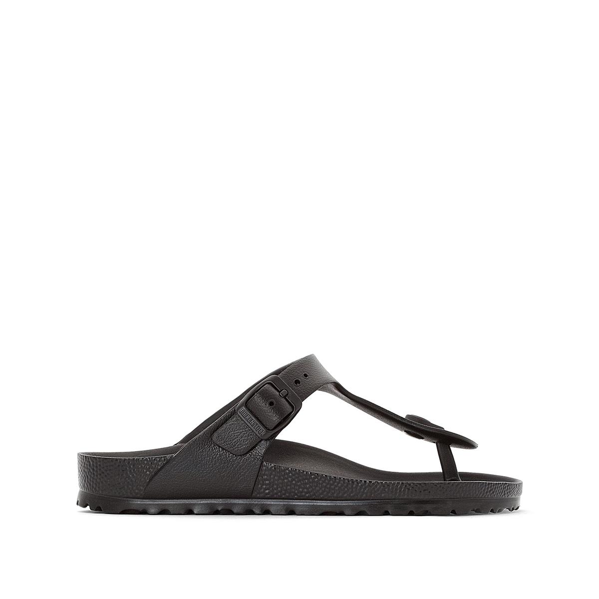 Туфли La Redoute Без задника Gizeh 37 черный туфли без задника кожаные с блестящими деталями