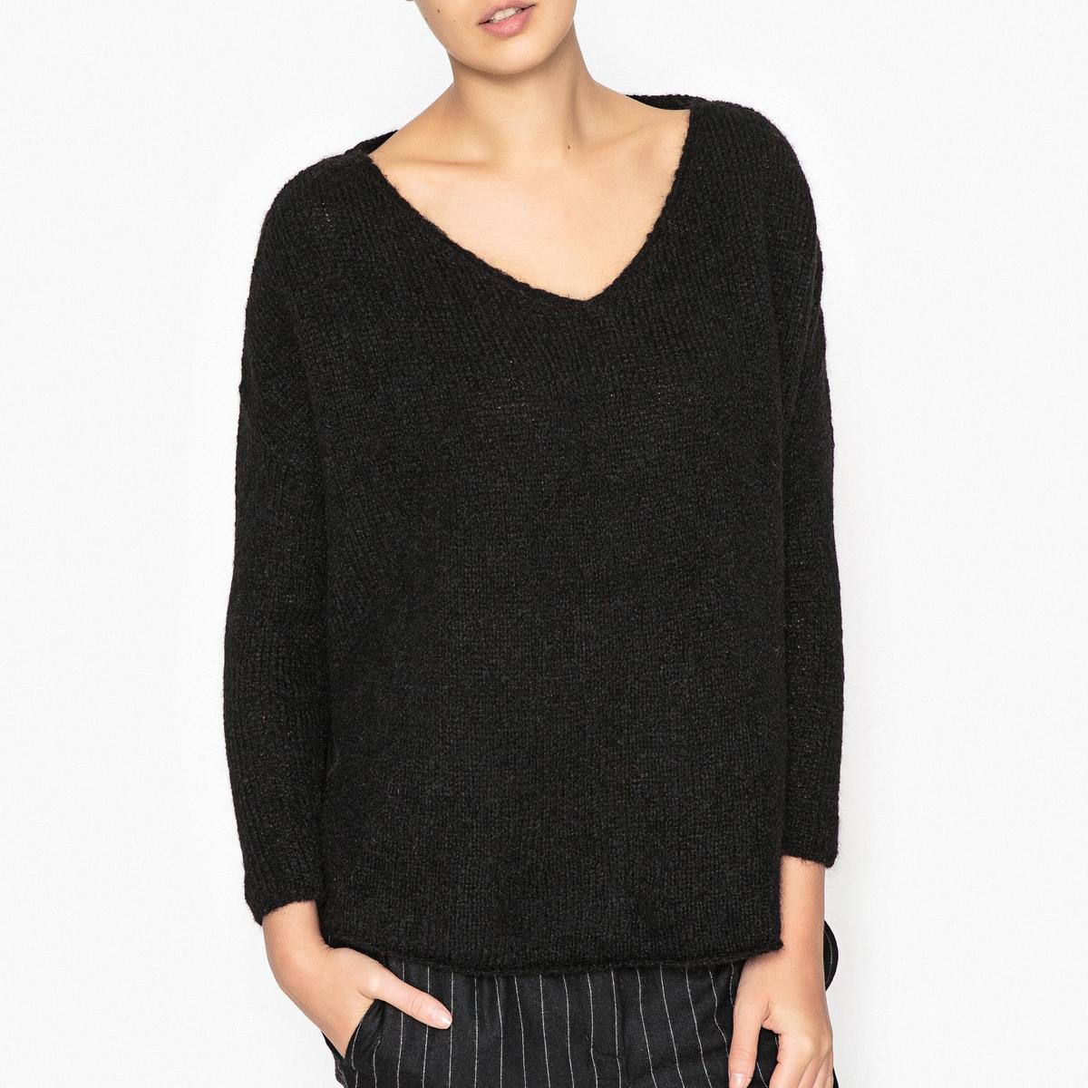 Пуловер укороченный с V-образным вырезом VACAVILLE