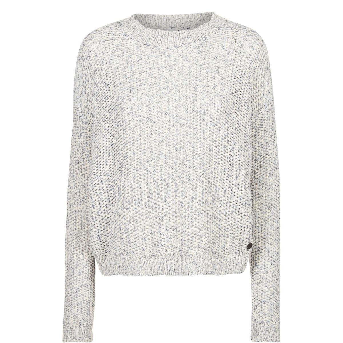 NUMPH Пуловер из ажурного трикотажа с длинными рукавами