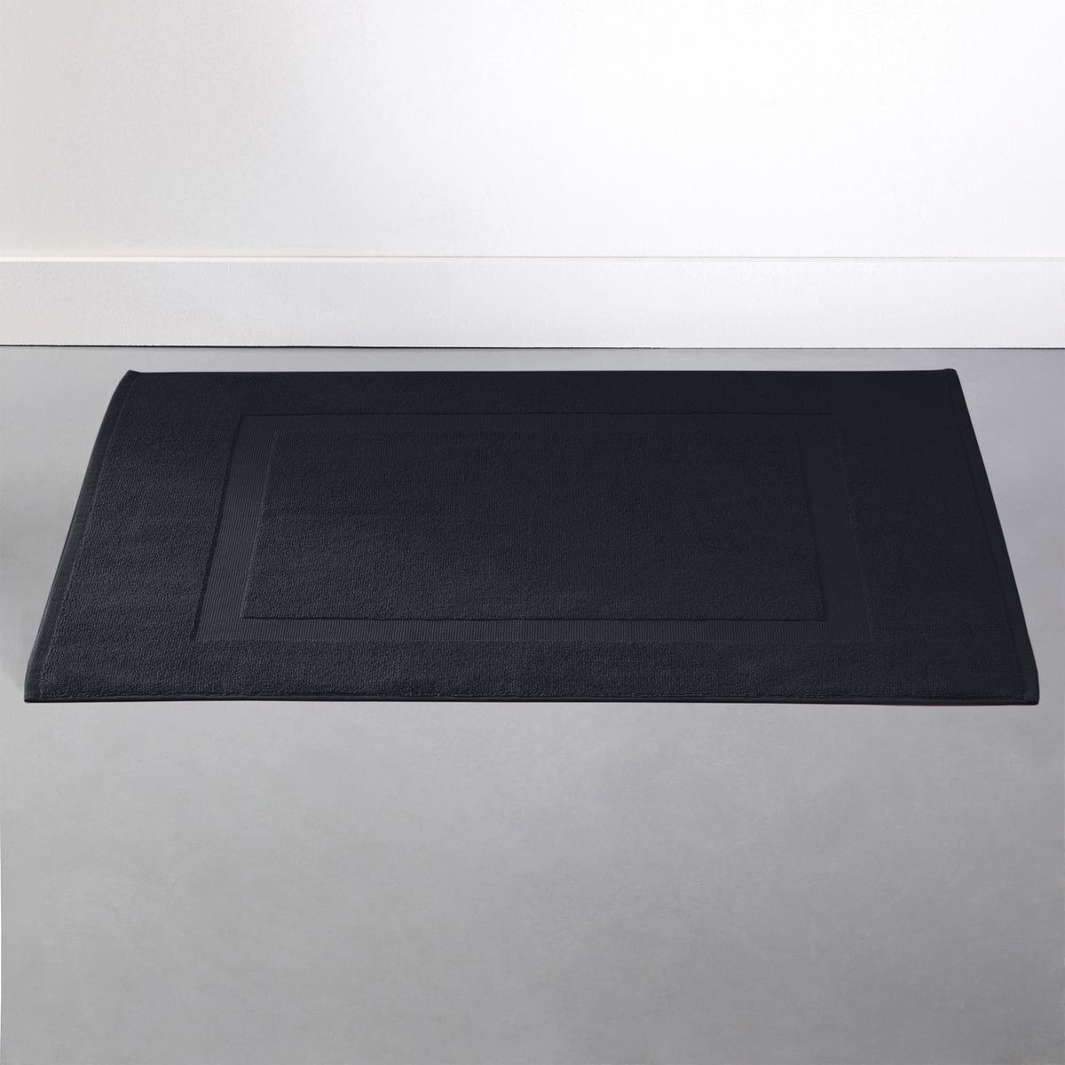 Коврик La Redoute Для ванной однотонный из махровой ткани 700 гм SCENARIO 50 x 70 см черный