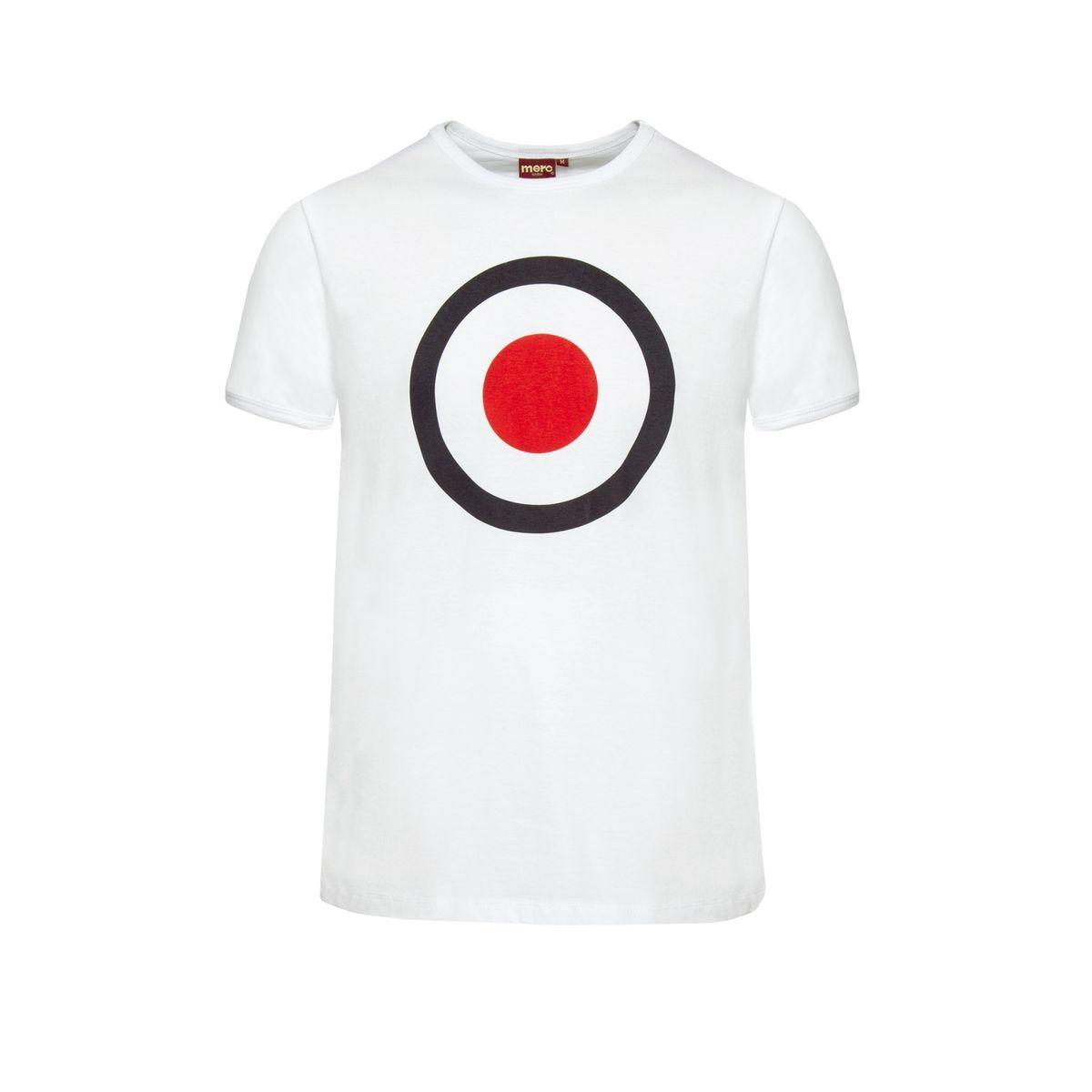 T-shirt imprimé cible TICKET