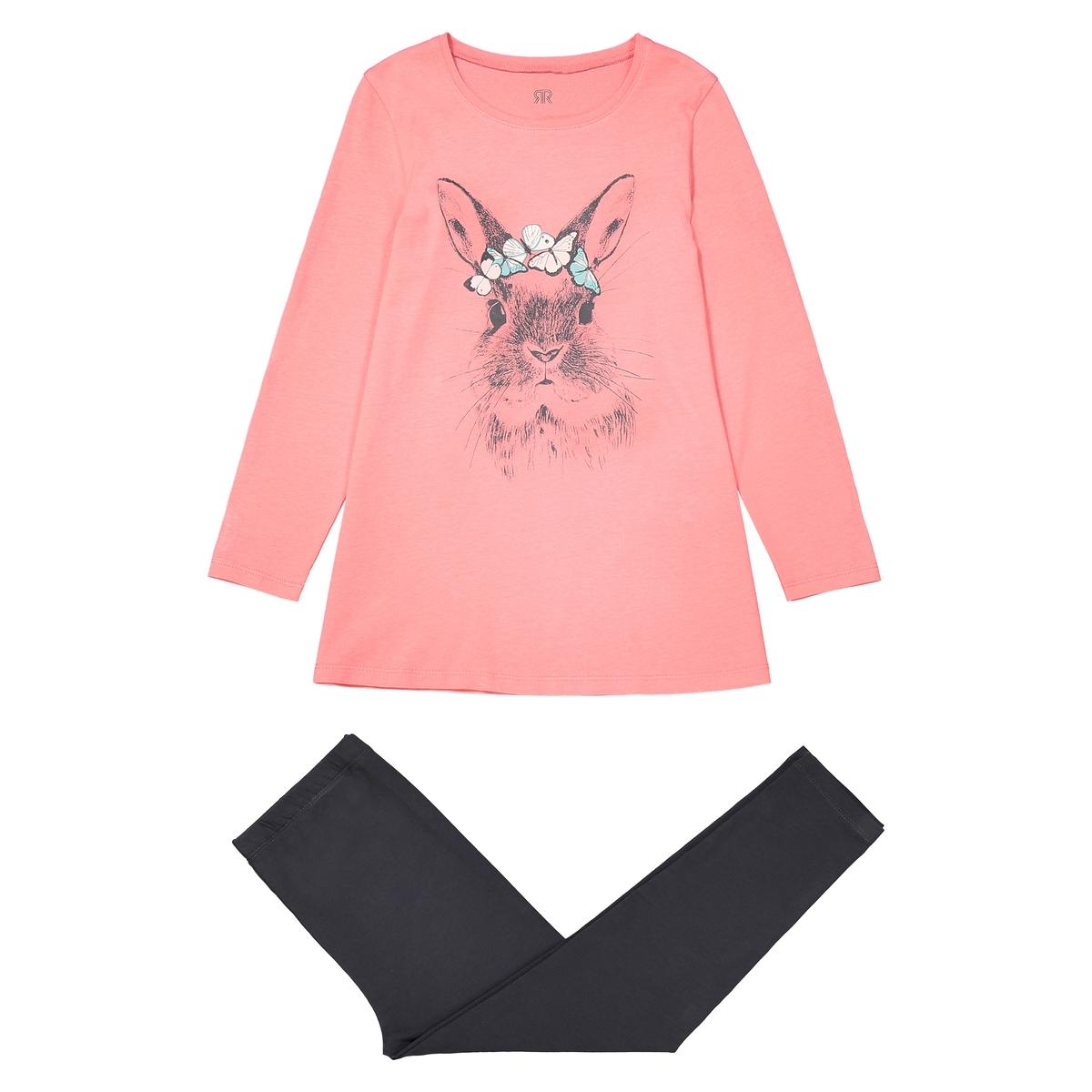 Пижама из хлопка с рисунком 3-12 лет футболка с рисунком ананас 100% хлопка для от 1 месяца до 3 лет