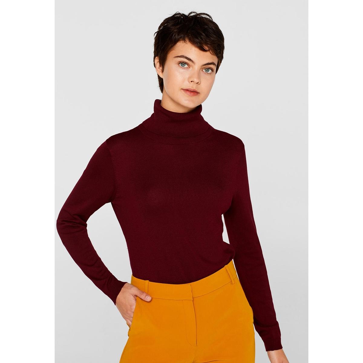 Jersey con cuello vuelto, manga larga