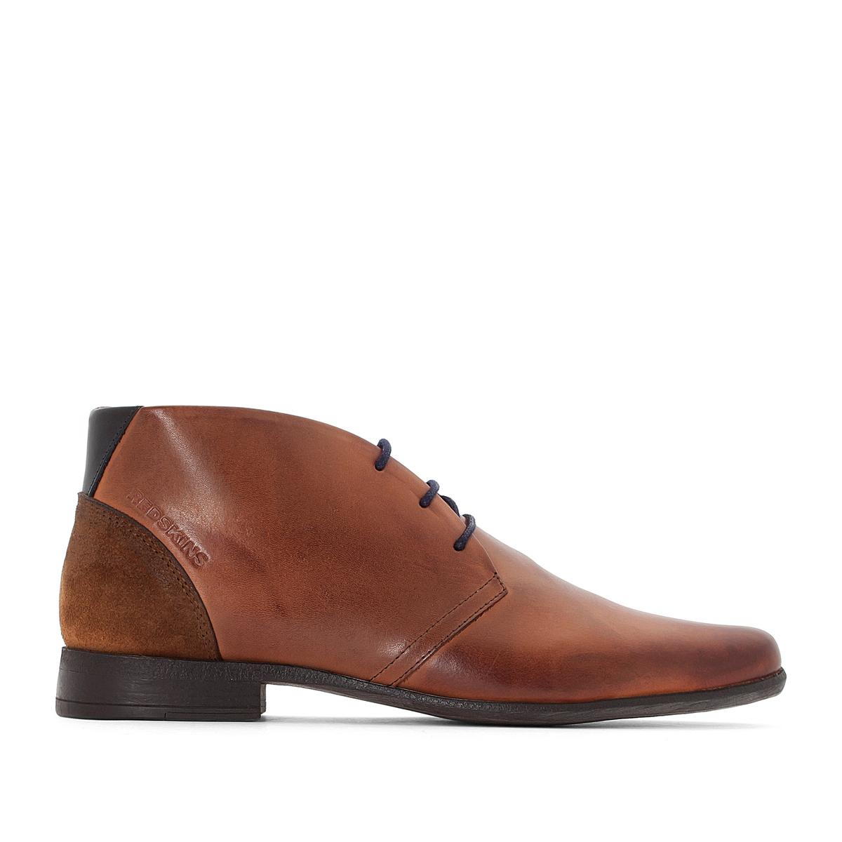 Ботинки-дерби высокие из кожи JOLIO