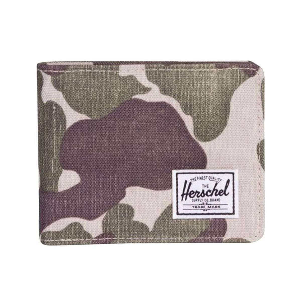 Portefeuille italien 2 volets   Roy RFID à imprimé camouflage clair