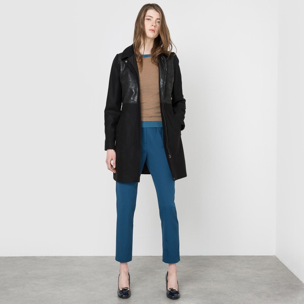Пальто из шерстяного драпа, 70% шерсти